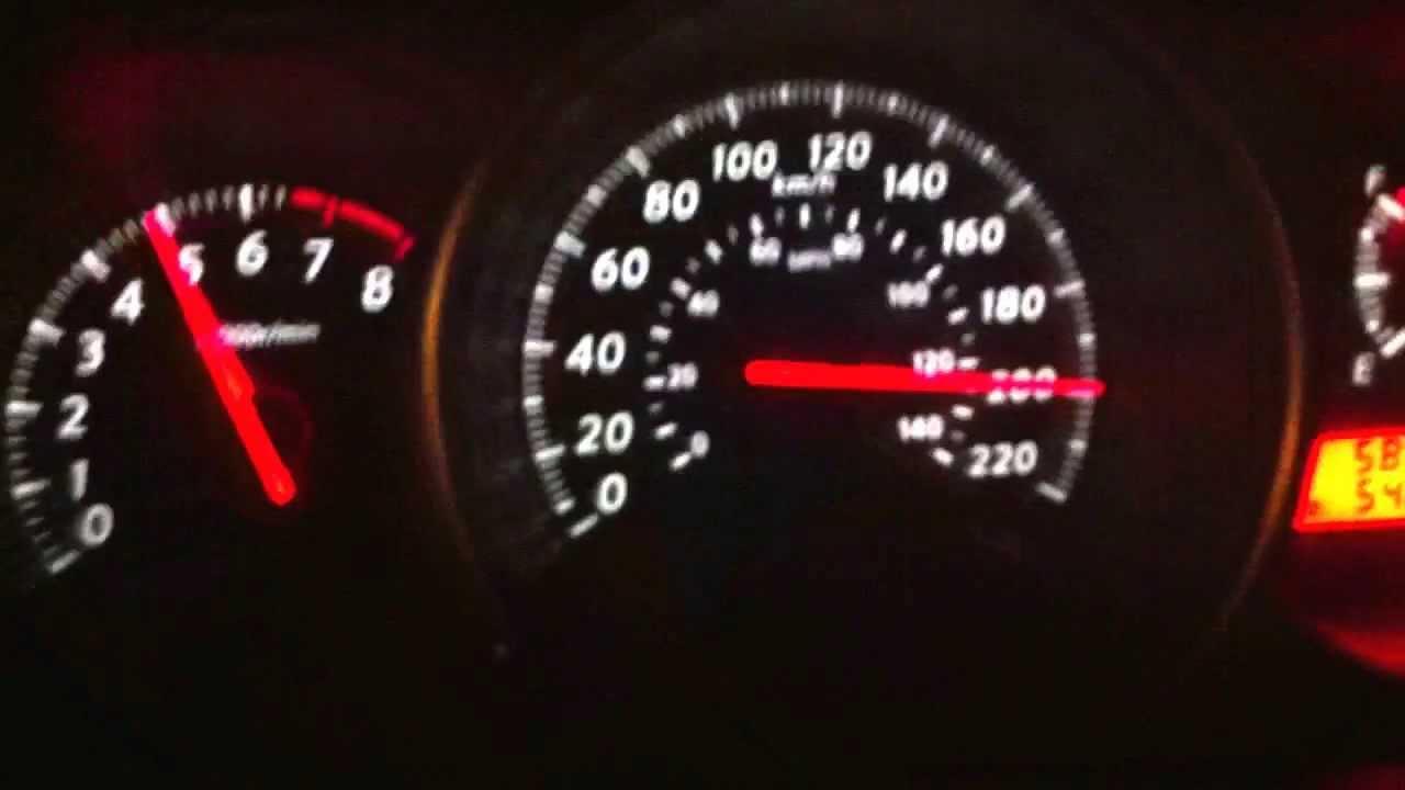 Tiida top speed 200 km h