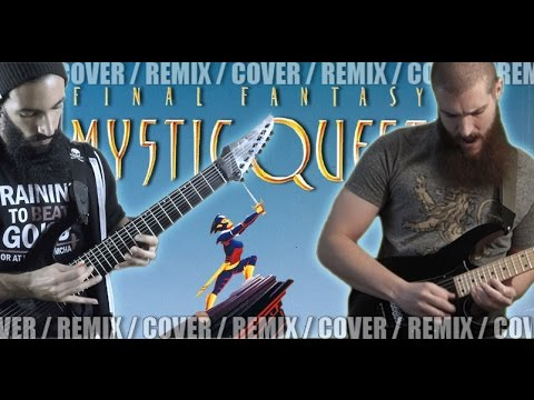 Final Fantasy Mystic Quest - Boss Battle | METAL REMIX (ft. Daniel Tidwell)