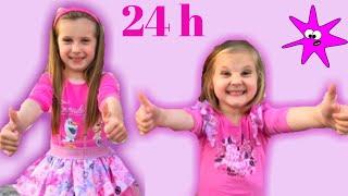24 H Koristimo Samo Rozu Boju. Zoja i Asja Zive Zivot U Pink Boji.