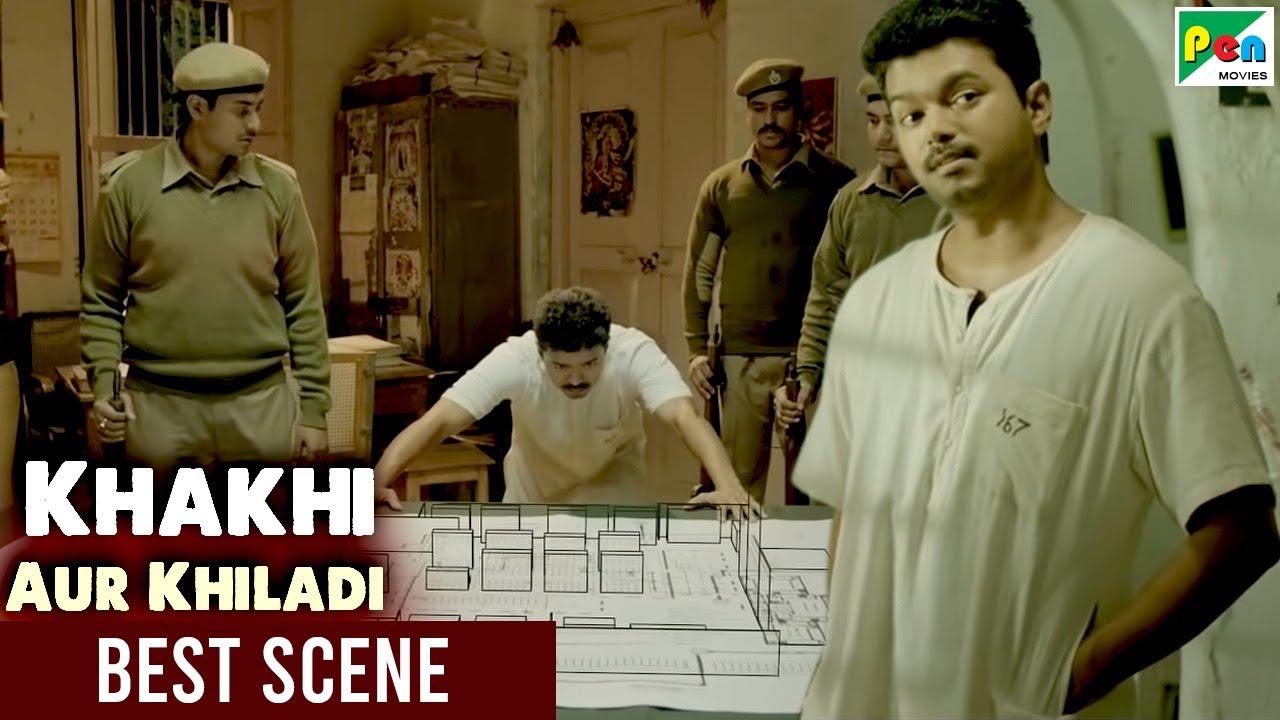 जीवानंथ Jail escape plan - Best Scene   Khakhi Aur Khiladi   Vijay, Samantha, Neil Nitin Mukesh