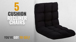 Top 10 Cushion Recliner Chairs [2018]: Iconic Home Daphene Adjustable Recliner Rocker Memory Foam
