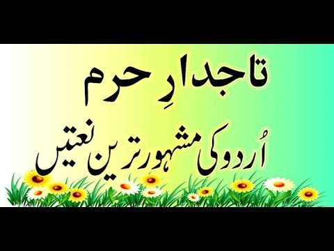 Tajdar e Haram | Lyrics in Urdu | Sabri Brothers | Full Qawali | Naye Andaz Mein