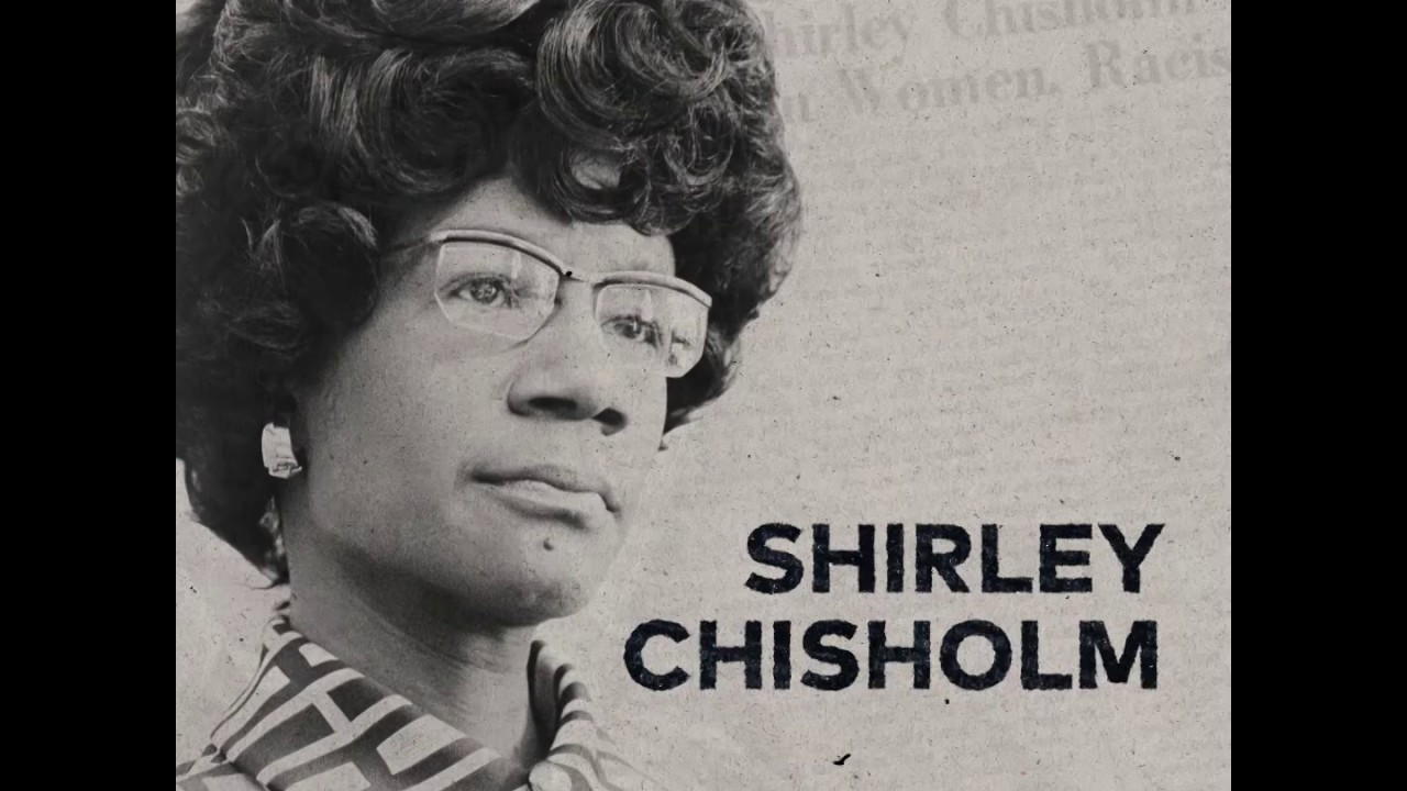 Shirley Chisholm's Message About The Importance Of Activism