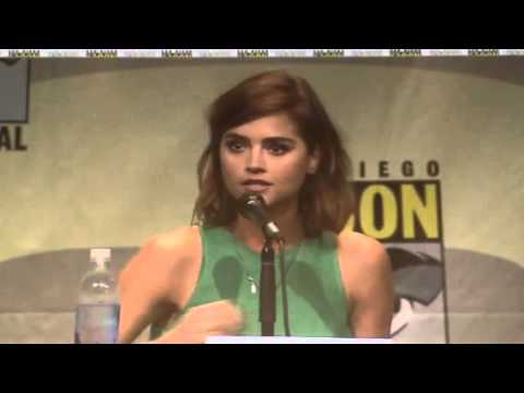 Jeanna Coleman: Woman Doctor Who Is Possible - Comic Con #SDCC