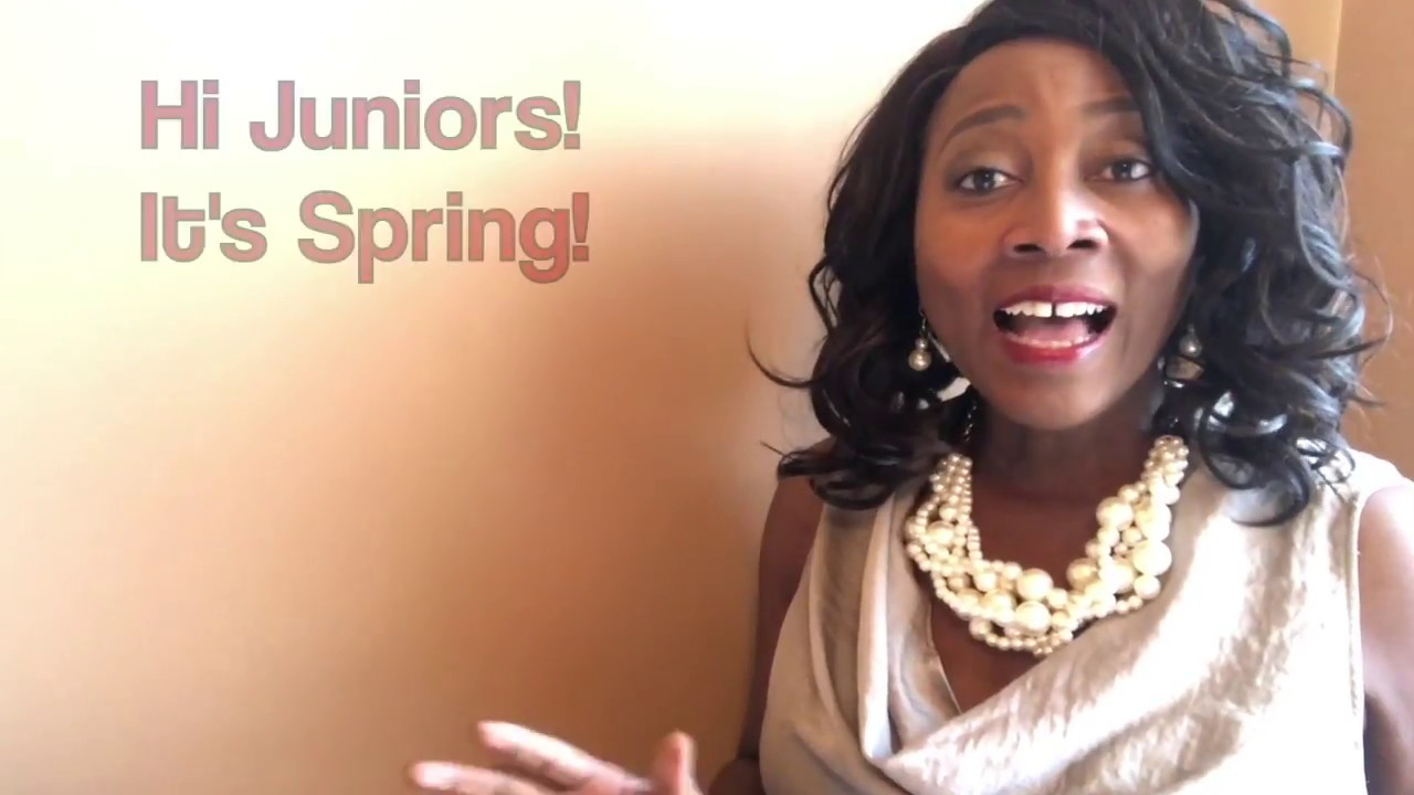 College Advice for Juniors - Spring semester. Spring into action!  Carpe Diem Educational Consulting