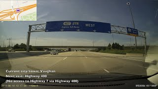 Travelling the Entire Highway 407 ETR (Express Toll Route)