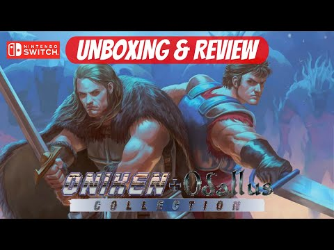 Oniken and Odallus Collection Unboxing and Review for the Nintendo Switch #playasia #switch
