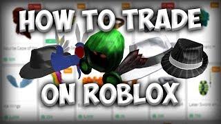 Comment négocier sur ROBLOX