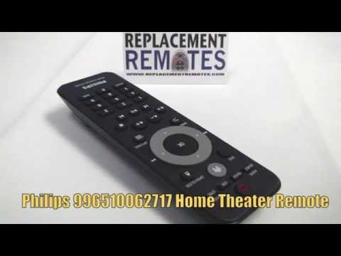 PHILIPS 996510062717 Home Theater System Remote - www