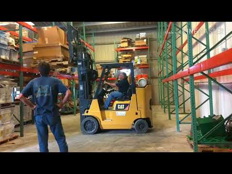 Forklift move in any direction good job at warehouse !
