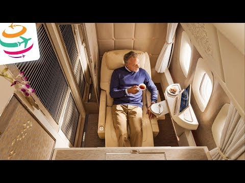 Emirates brand new First Class 777 and Business & Economy Class | GlobalTraveler.TV