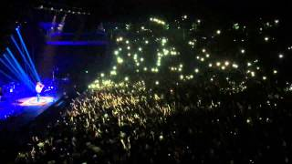 Hozier - Cherry Wine Live Auckland 5 November 2015 at Vector Arena