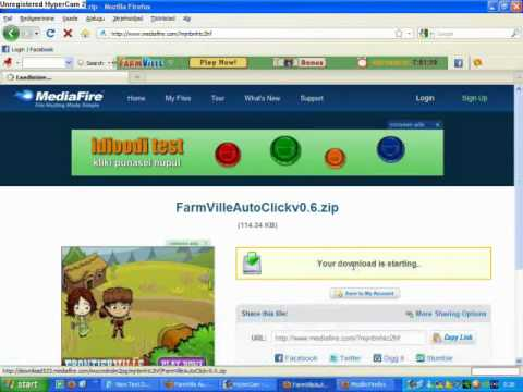 Farmville auto click v0.6 By Sam (Newest Version)(released on July 4, 2010)