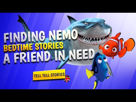 Disney - Finding Nemo. A Friend in Need | Storytime | Bedtime English stories