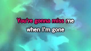 Cups You're Gonna Miss Me When I'm Gone KARAOKE, PITCH PERFECT SLOW