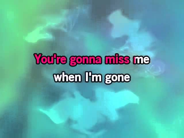 Cups You Re Gonna Miss Me When I M Gone Karaoke Pitch Perfect Slow Youtube