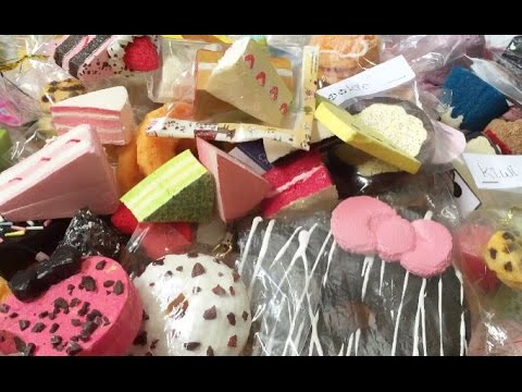 Homemade Squishy Collection 2014 : Homemade Squishy Collection NineyCrafts - YouTube