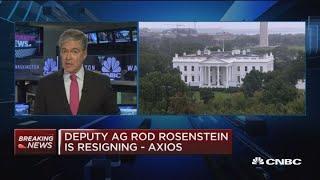 Rosenstein exit could put Trump in political firestorm