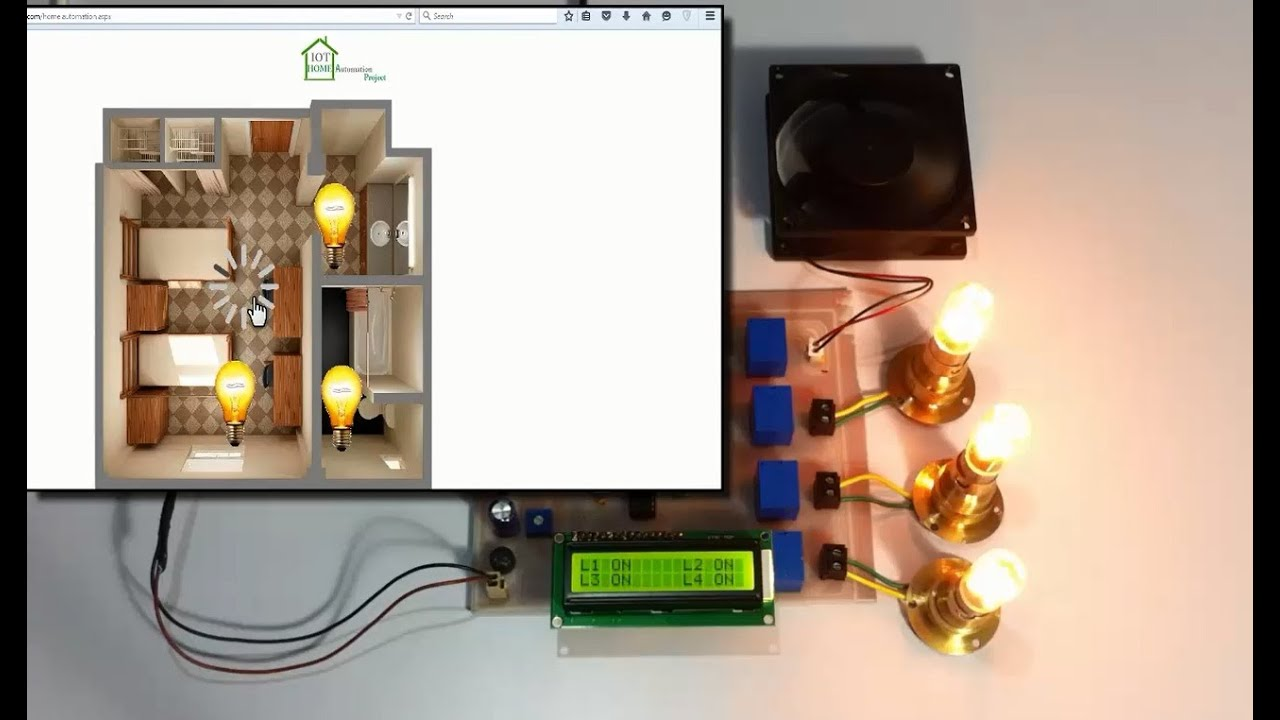 Iot Based Home Automation Project Auto Electrical Wiring Diagram Bluetooth Circuits4youcom