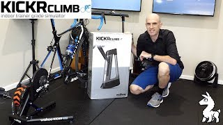 Wahoo KICKR CLIMB Gradient Simulator: Unboxing, Install, Ride Review.