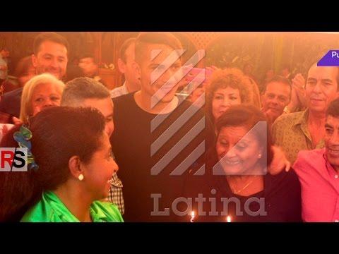 Paolo Guerrero celebró un año más de Doña Peta al lado de Alondra