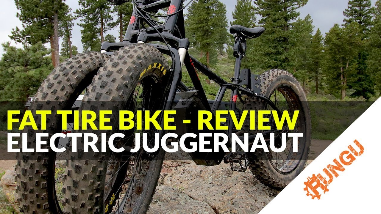 Extreme 3 Wheel Fat Tire Bike Review Featuring The Rungu Electric