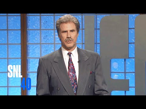 SNL40: Celebrity Jeopardy