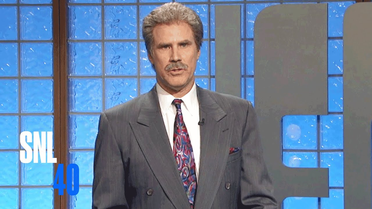 'SNL' Game Show Sketches - Celebrity Jeopardy, Will ...