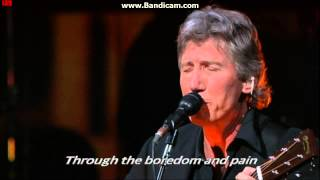 "♫""Roger Waters-Pigs On The Wing, Part 1"" (Live) - Lyrics"