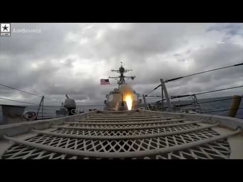 Military | U.S. Navy Standard Missile-2 Live-fire – Eisenhower Strike Group