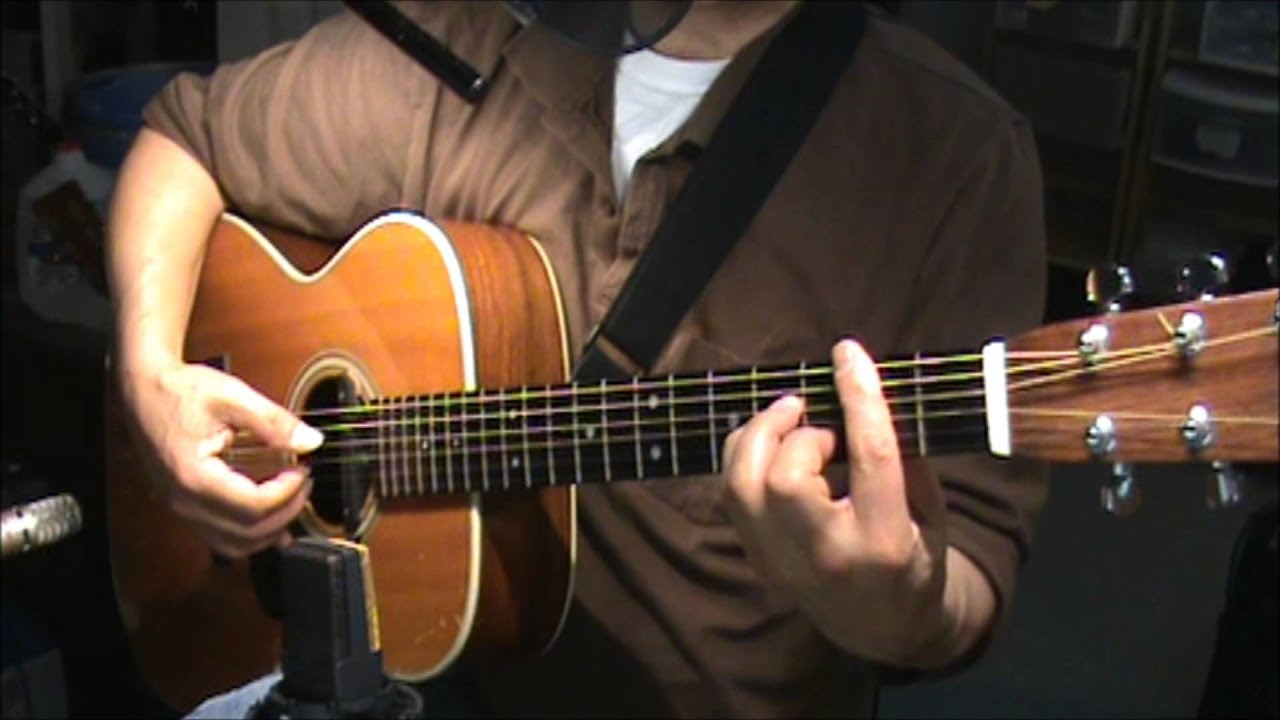 American Pie Don Mclean Chords Finger Style Acoustic Guitar Youtube