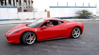 Ferrari 458 Italia exhaust sound Dubai
