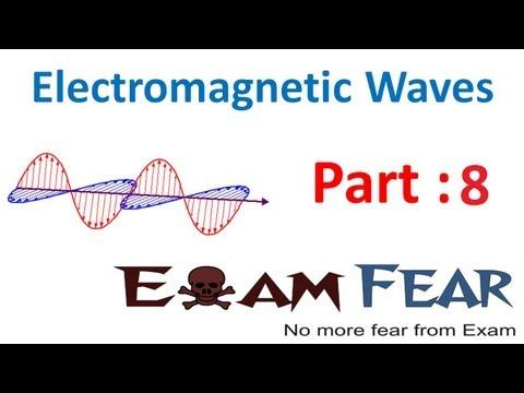 Physics Electromagnetic Waves part 8 (Electromagnetic Spectrum & Energy) CBSE class 12