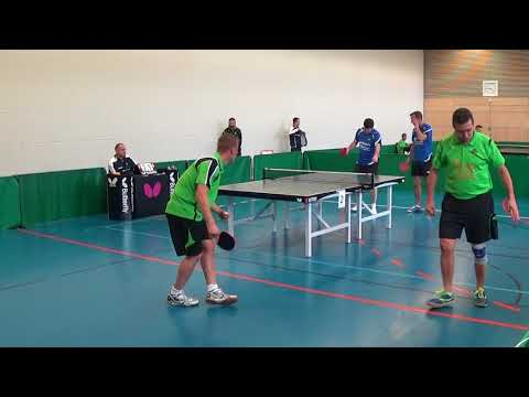 Oberliga Bayern Tischtennis Windsbach vs Bad Aibling Stativ 20170930 3
