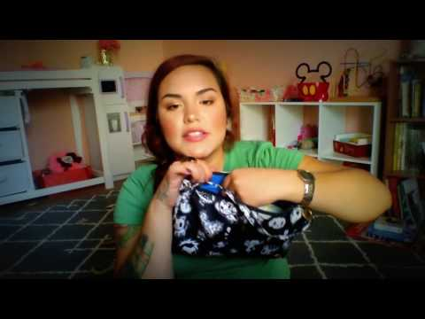 Updated what's in my diaper bag- Skip hop chelsea downtown chic diaper backpack