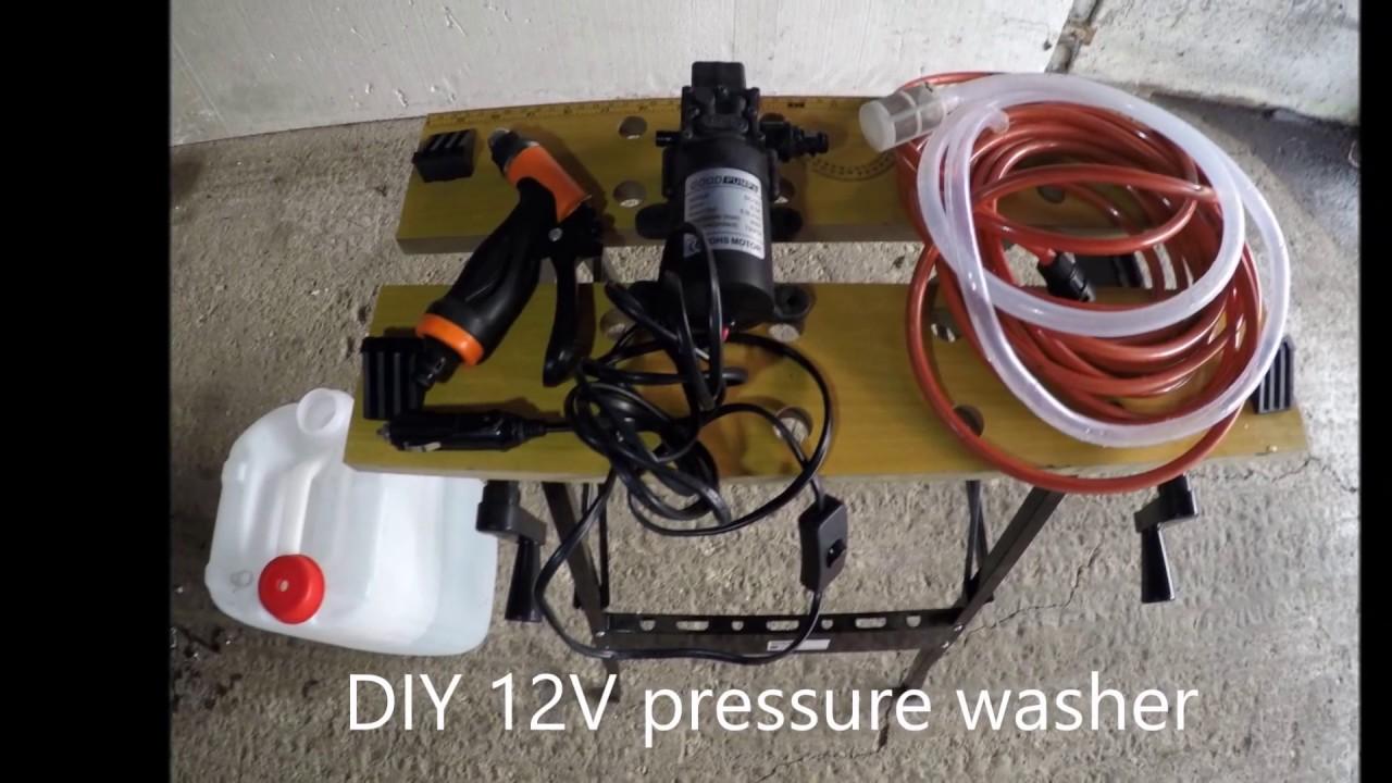 Diy 12v Pressure Washer You