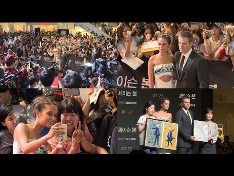 [NO CUT] Matt Damon(맷 데이먼) 'JASON BOURNE(제이슨 본)' Red Carpet Event [통통영상]