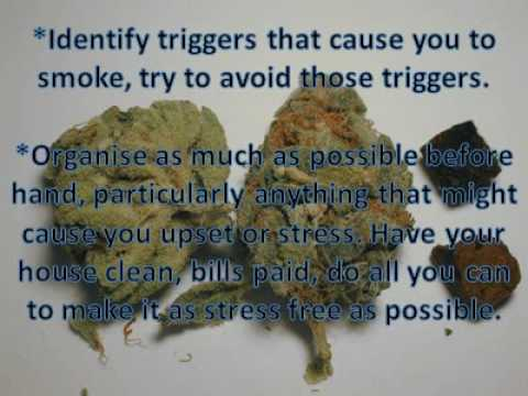 How to stop smoking weed - YouTube