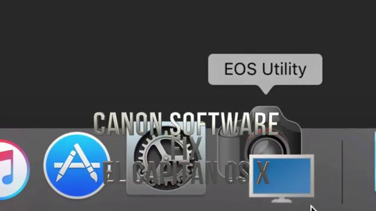 EOS Utility 3.9.0 for Mac OS X