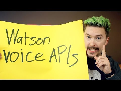 Voice recognition on the web using IBM Watson