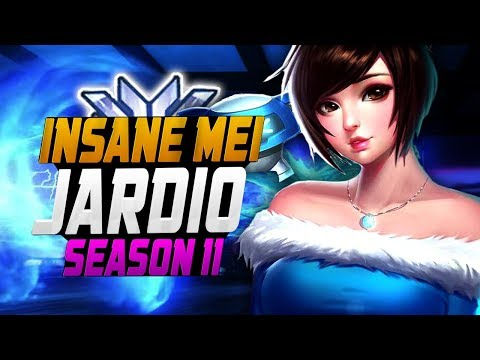 Unstoppable Mei - JARDIO! [ OVERWATCH SEASON 11 TOP 500 ] thumbnail