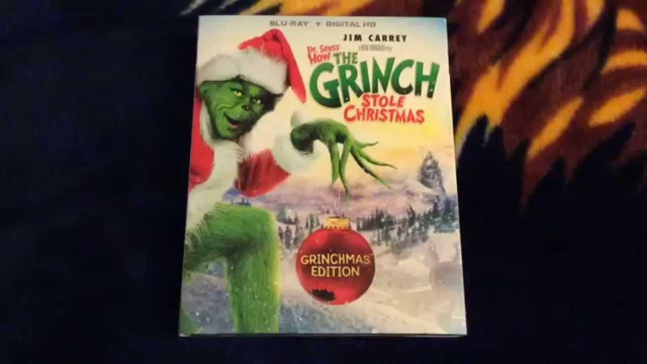 how the grinch stole christmas 2005 grinchmas edition blu ray unboxing - How The Grinch Stole Christmas Blu Ray