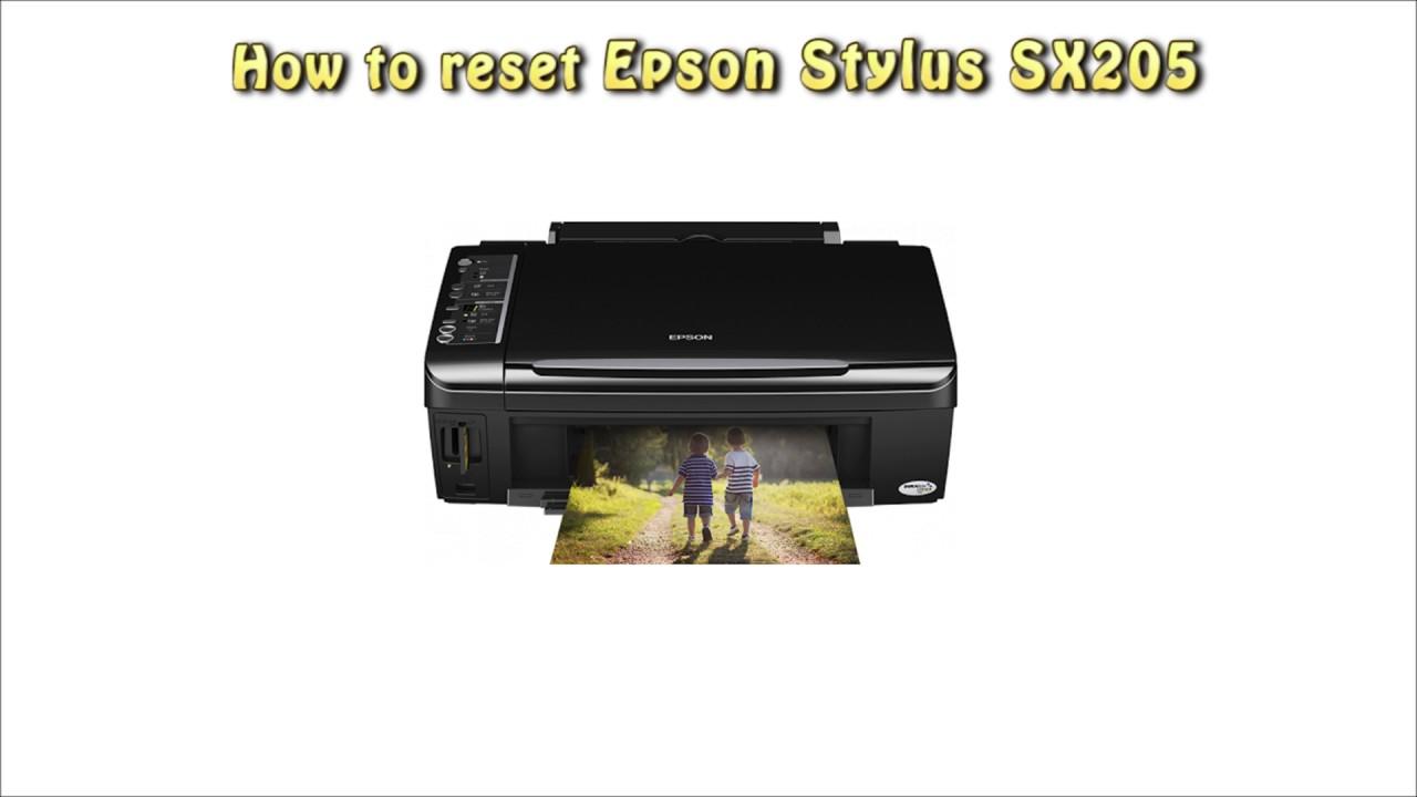 reset epson sx 205 waste ink pad counter youtube rh youtube com epson stylus sx205 printer manual epson stylus sx205 user manual
