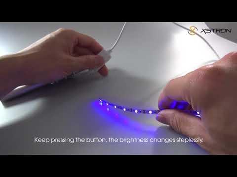 5V USB LED Strip with Dimmer