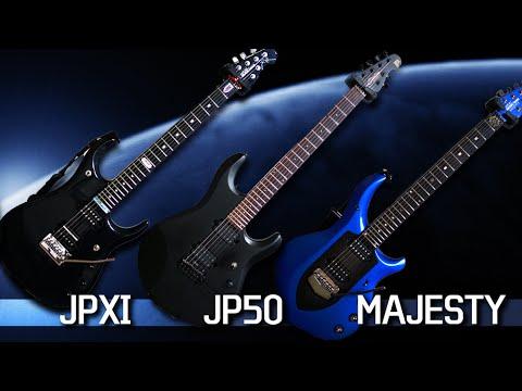 Musicman JPM compare (JP50 vs JPXI vs Majesty)