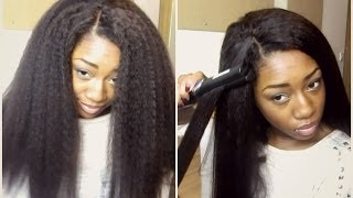 Realistic Looking Hair! (Dream Tresses Mongolian Kinky Straight)