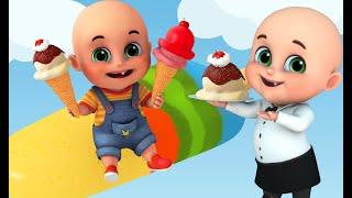 Ice Cream Song | Popsicle for kids | Dad get me | + more nursery Rhymes & Baby Songs | Jugnu Kids