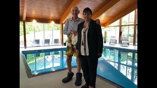 100-Year-Old Bill's NHS Swim | Isle of Wight Radio
