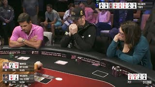 CASH GAME - Phil Hellmuth, Doug Polk, Shaun Deeb | Rivers Schenectady 2017