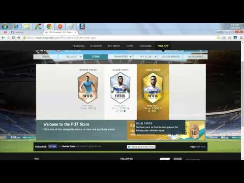 "FIFA 16 WEBAPP "" FIRST LOOK "" [HD] Live!"